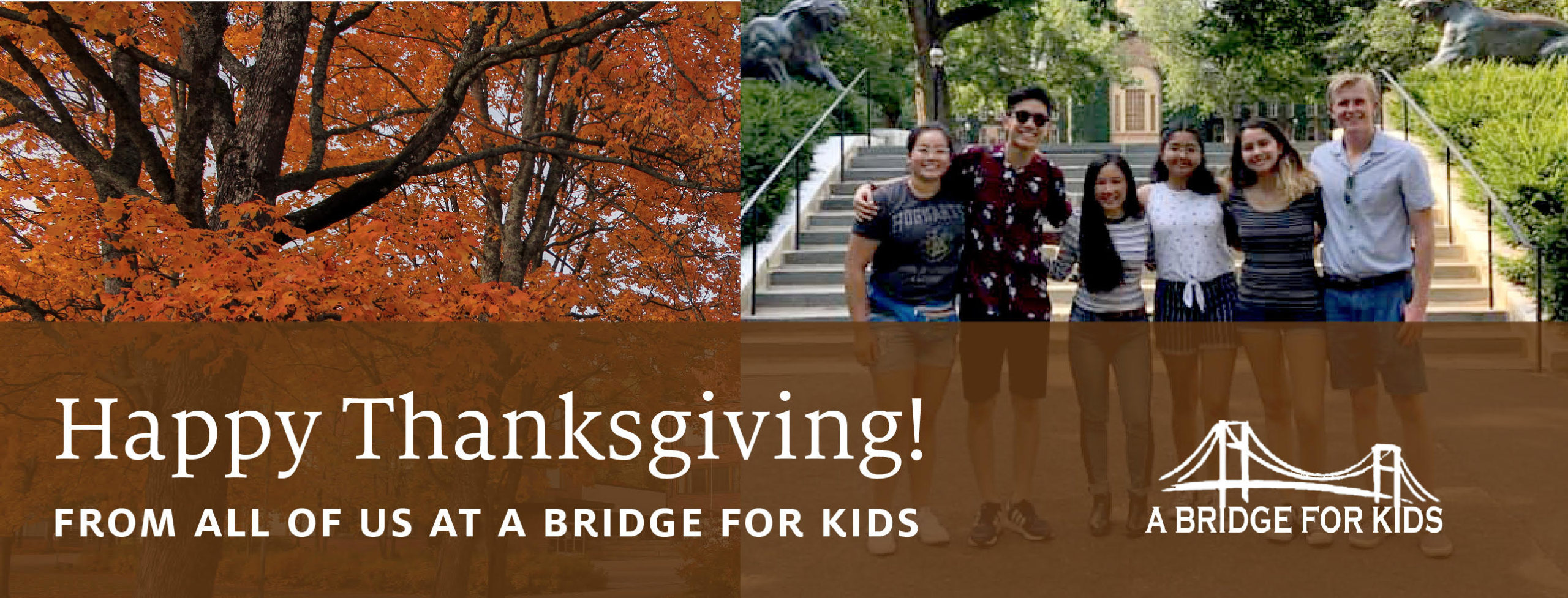 ABFK Students and Alumni Share Messages of Gratitude This Holiday Season