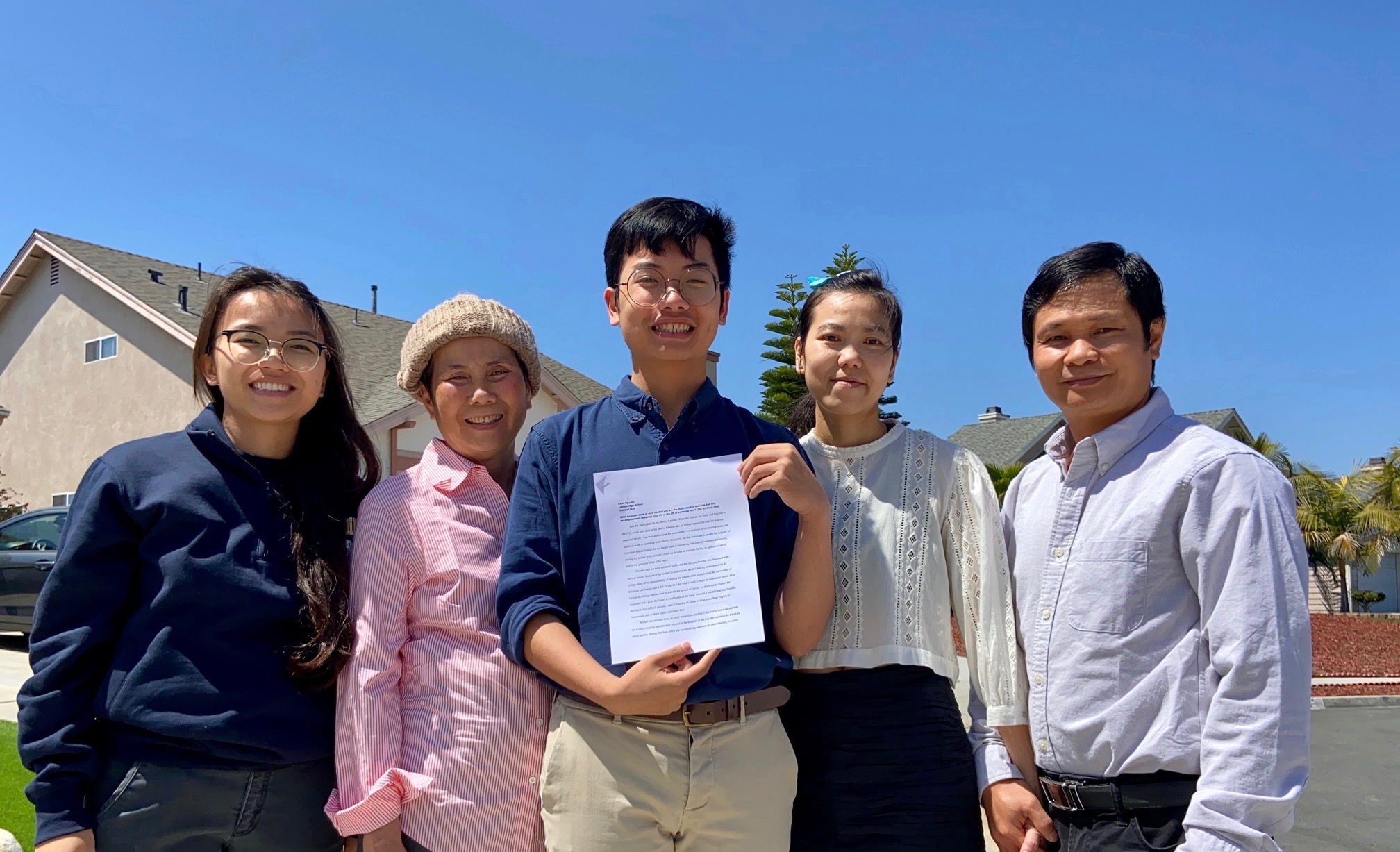 Billy Nguyen Wins 8th Annual Essay Contest